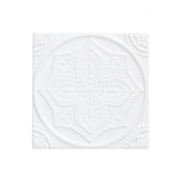 ADEX-ADST4067-RELIEVE-MANDALA PLANET  -14.8 cm-14.8 cm-STUDIO>SNOW CAP