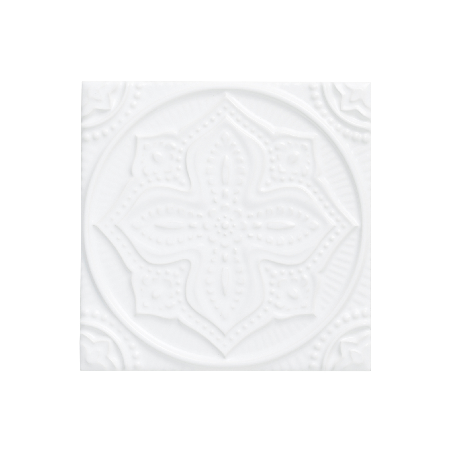 ADST4067 - RELIEVE MANDALA PLANET - 14.8 cm X 14.8 cm