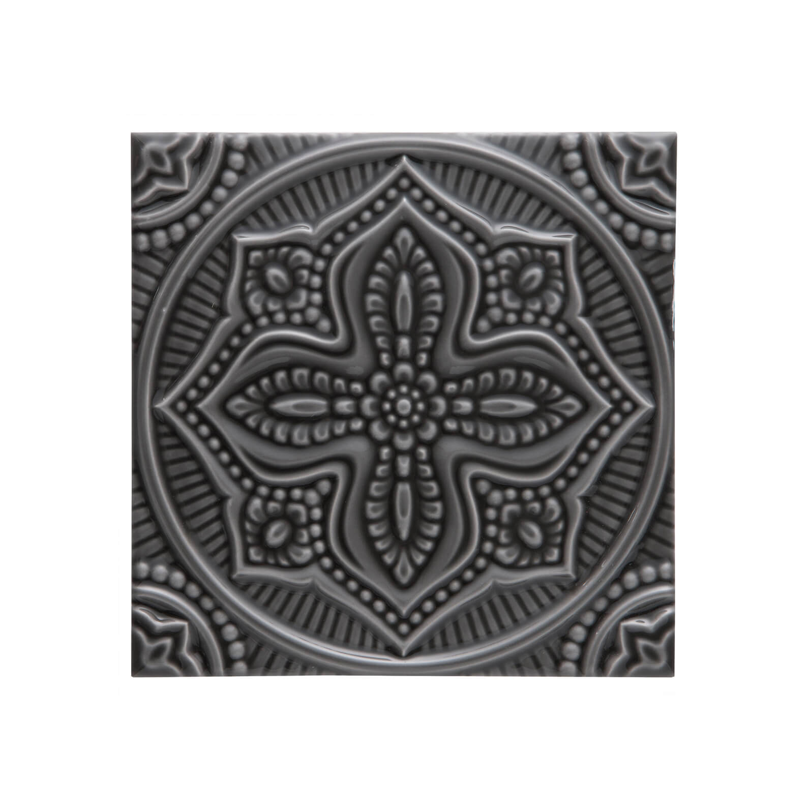 ADST4072 - RELIEVE MANDALA PLANET - 14.8 cm X 14.8 cm