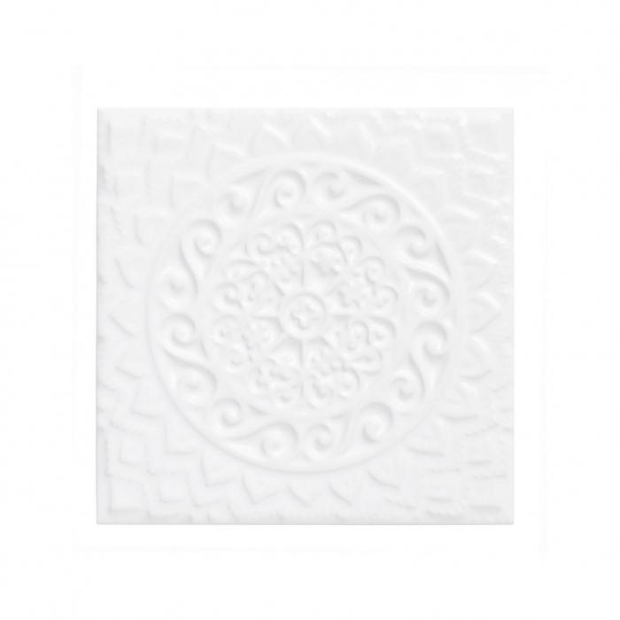 ADEX-ADST4074-RELIEVE-MANDALA UNIVERSE  -14.8 cm-14.8 cm-STUDIO>SNOW CAP