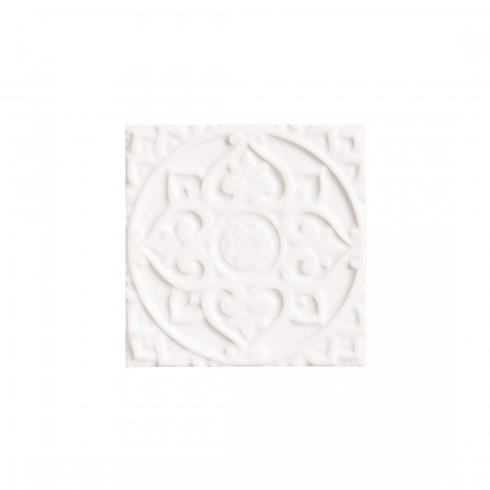 ADEX-ADEH4004-RELIEVE-MANDALA ENERGY-15 cm-15 cm-EARTH>NAVAJO WHITE