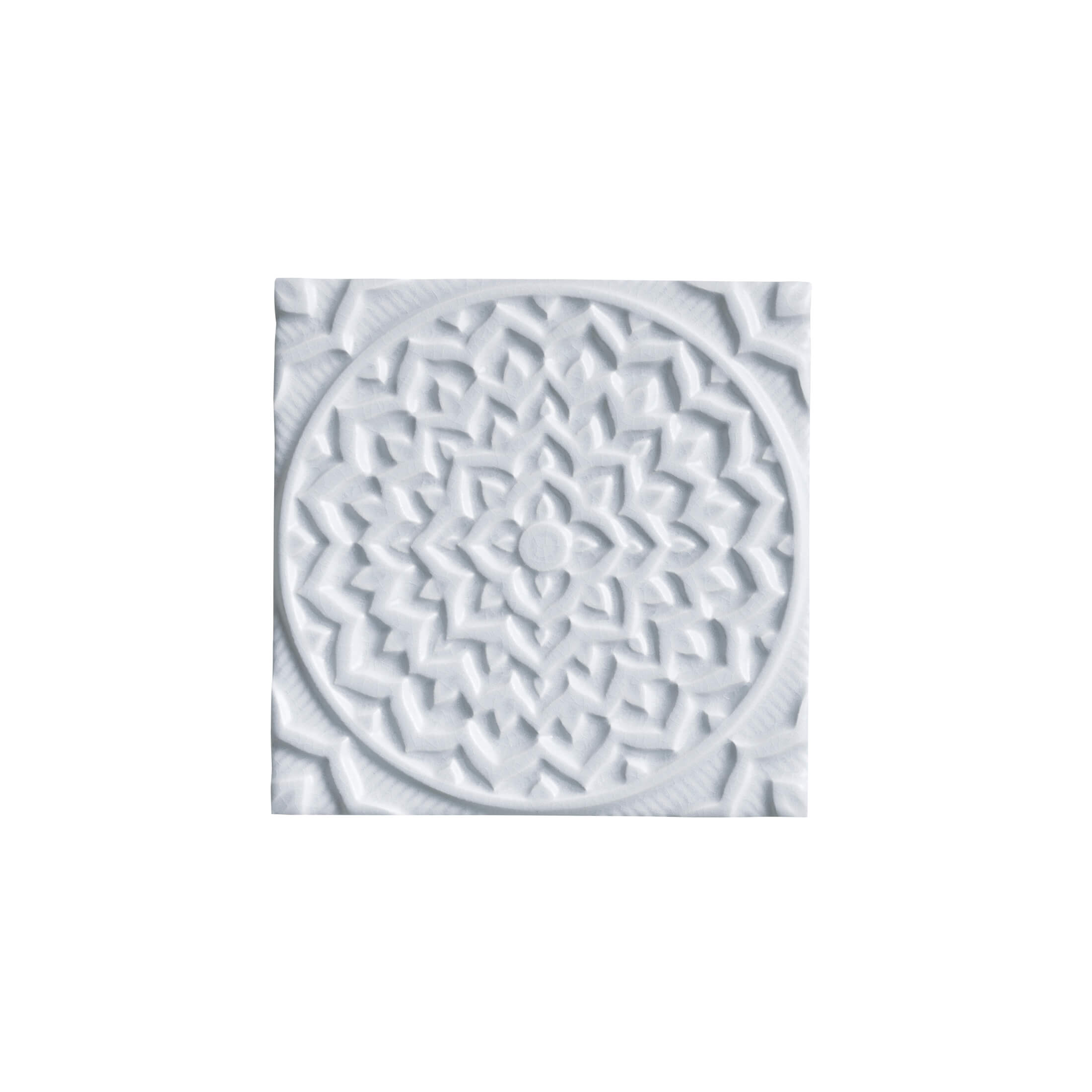 ADEX-ADEH4009-RELIEVE-MANDALA COSMOS-15 cm-15 cm-EARTH>MORNING SKY