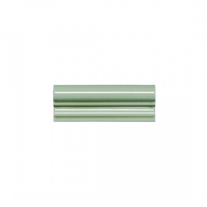 ADEX-ADMO5169-MOLDURA-ITALIANA PB C/C  -5 cm-15 cm-MODERNISTA>VERDE CLARO