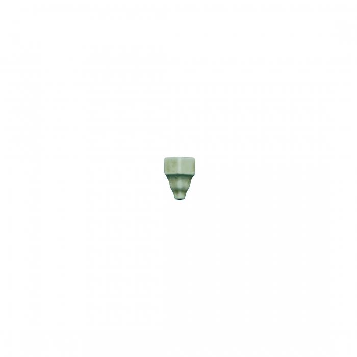 ADEX-ADMO5351-ANGULO-EXTERIOR CORNISA CLASICA C/C -3.5 cm-15 cm-MODERNISTA>VERDE CLARO