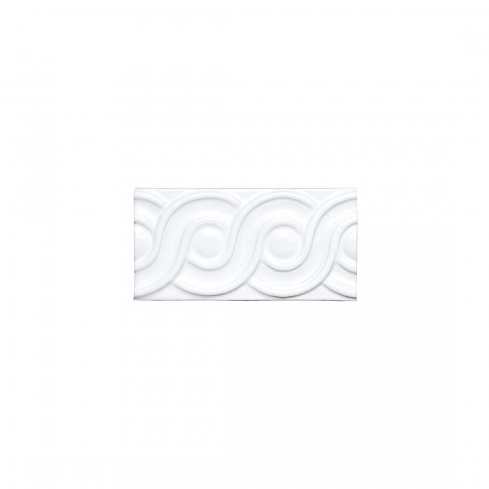 ADEX-ADNE4113-RELIEVE-CLASICO  -7.5 cm-15 cm-NERI>BLANCO Z