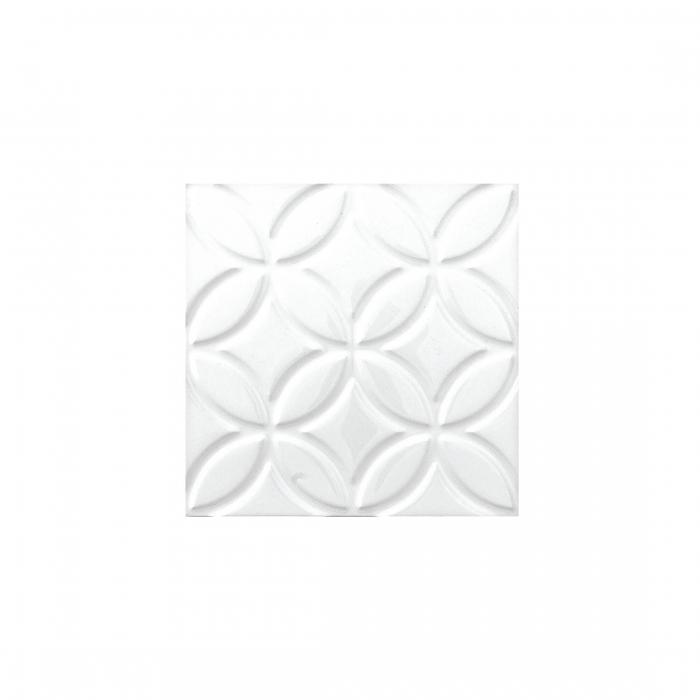 ADEX-ADNE4125-LISO-BOTANICAL  -15 cm-15 cm-NERI>BLANCO Z