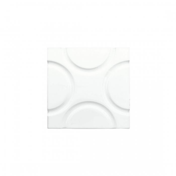 ADEX-ADNE4128-LISO-GEO  -15 cm-15 cm-NERI>BLANCO Z