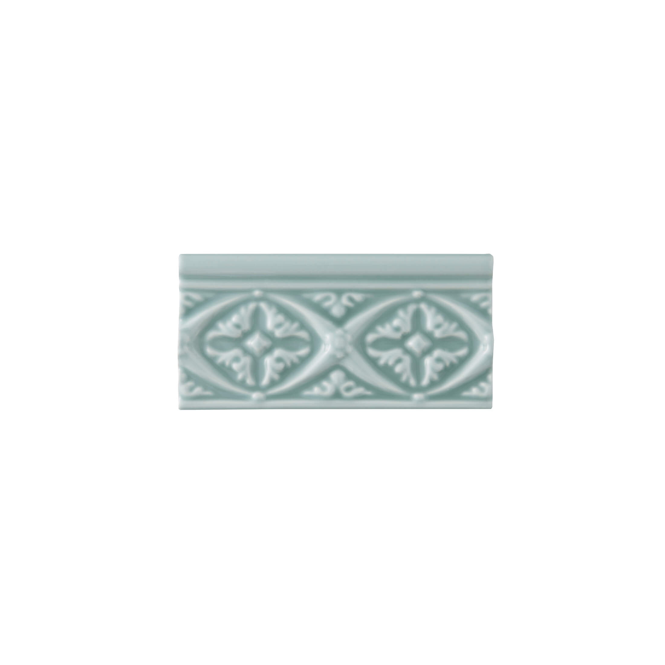 ADEX-ADNE4146-RELIEVE-BIZANTINO  -7.5 cm-15 cm-NERI>SEA GREEN