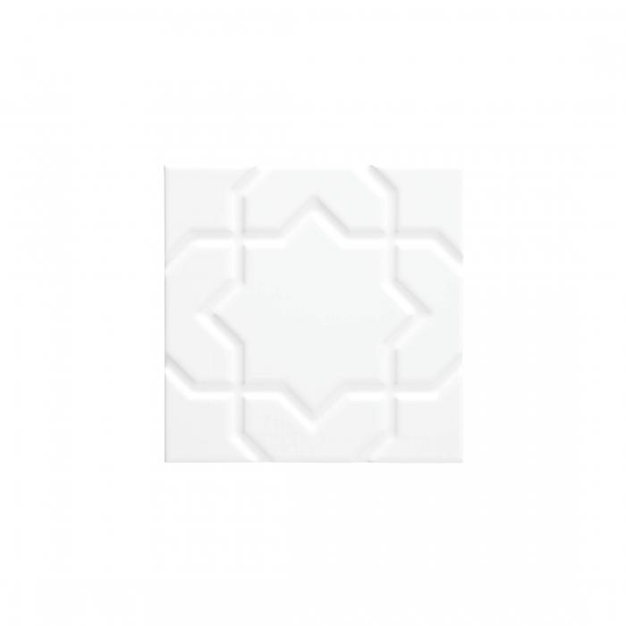 ADEX-ADNE4151-LISO-STAR  -15 cm-15 cm-NERI>BLANCO Z