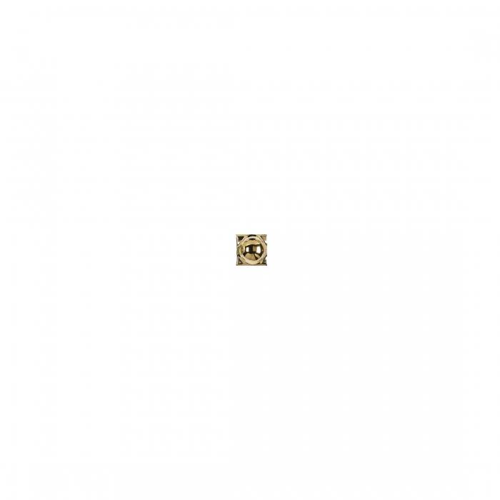 ADEX-ADNE8059-TACO-ESFERA ORO -2 cm-2 cm-ROMBOS>
