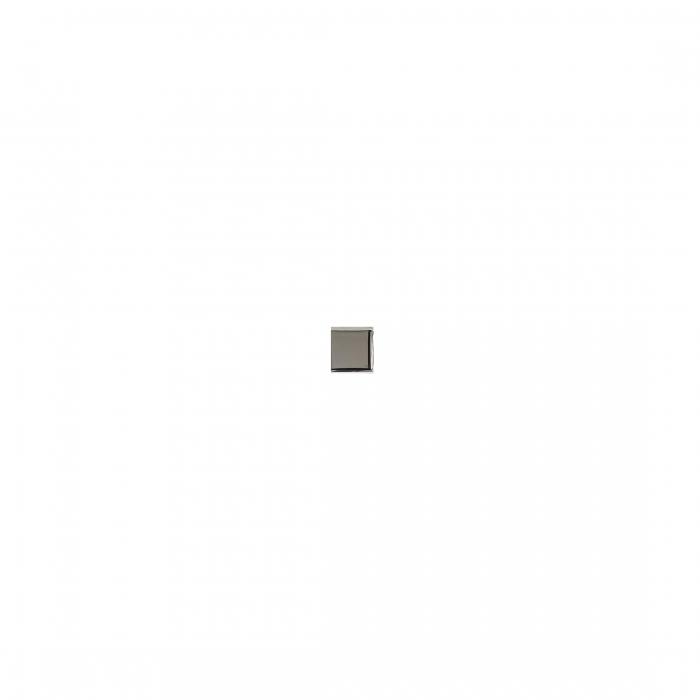 ADEX-ADNE8061-TACO-PLATA  -2 cm-2 cm-ROMBOS>LISO