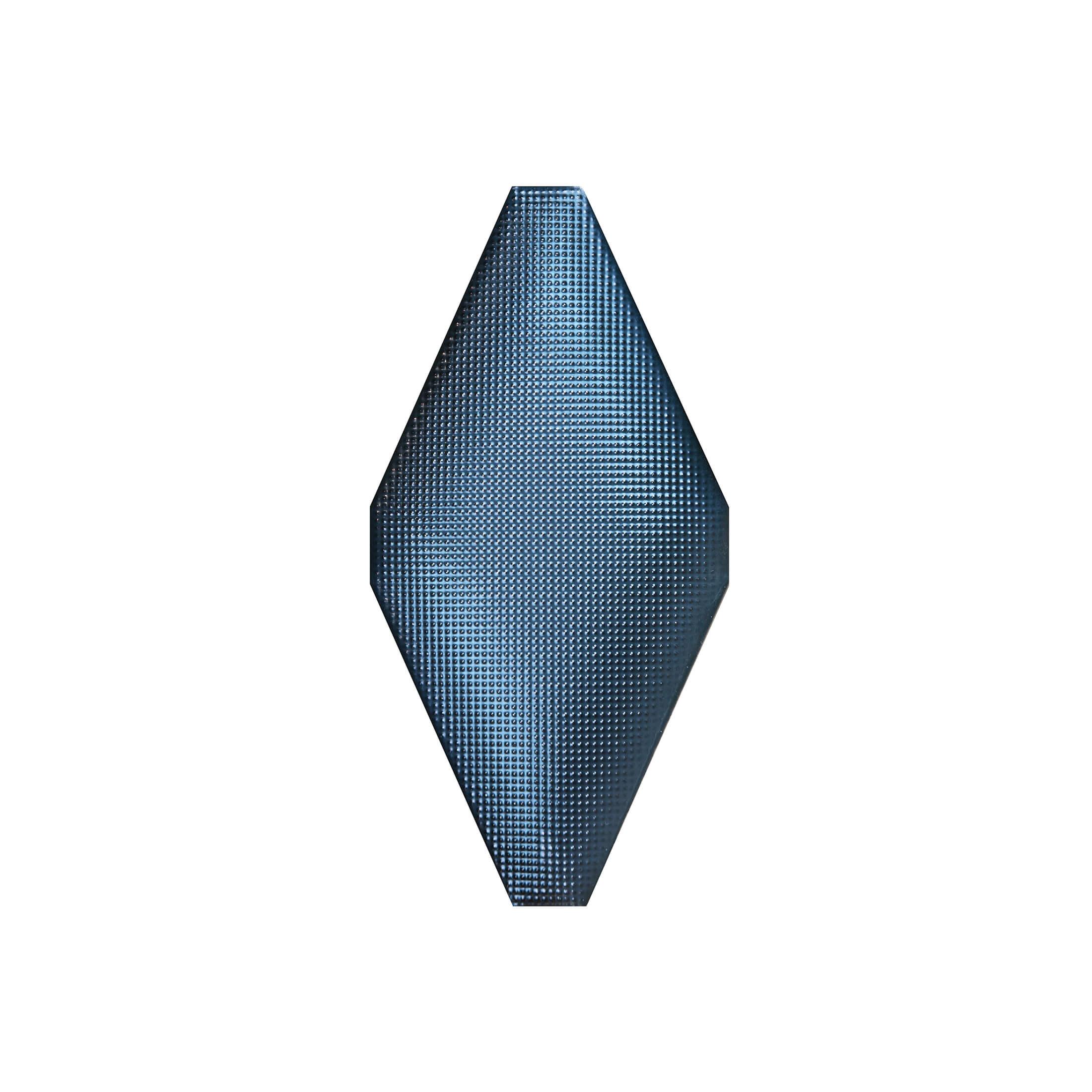 ADNE8122 - ROMBO ACOLCHADO COBALTO - 10 cm X 20 cm