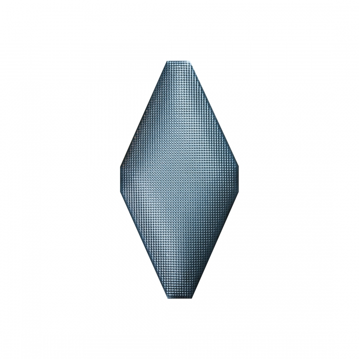 ADEX-ADNE8123-ROMBO-ACOLCHADO NIQUEL -10 cm-20 cm-ROMBOS>MICRO