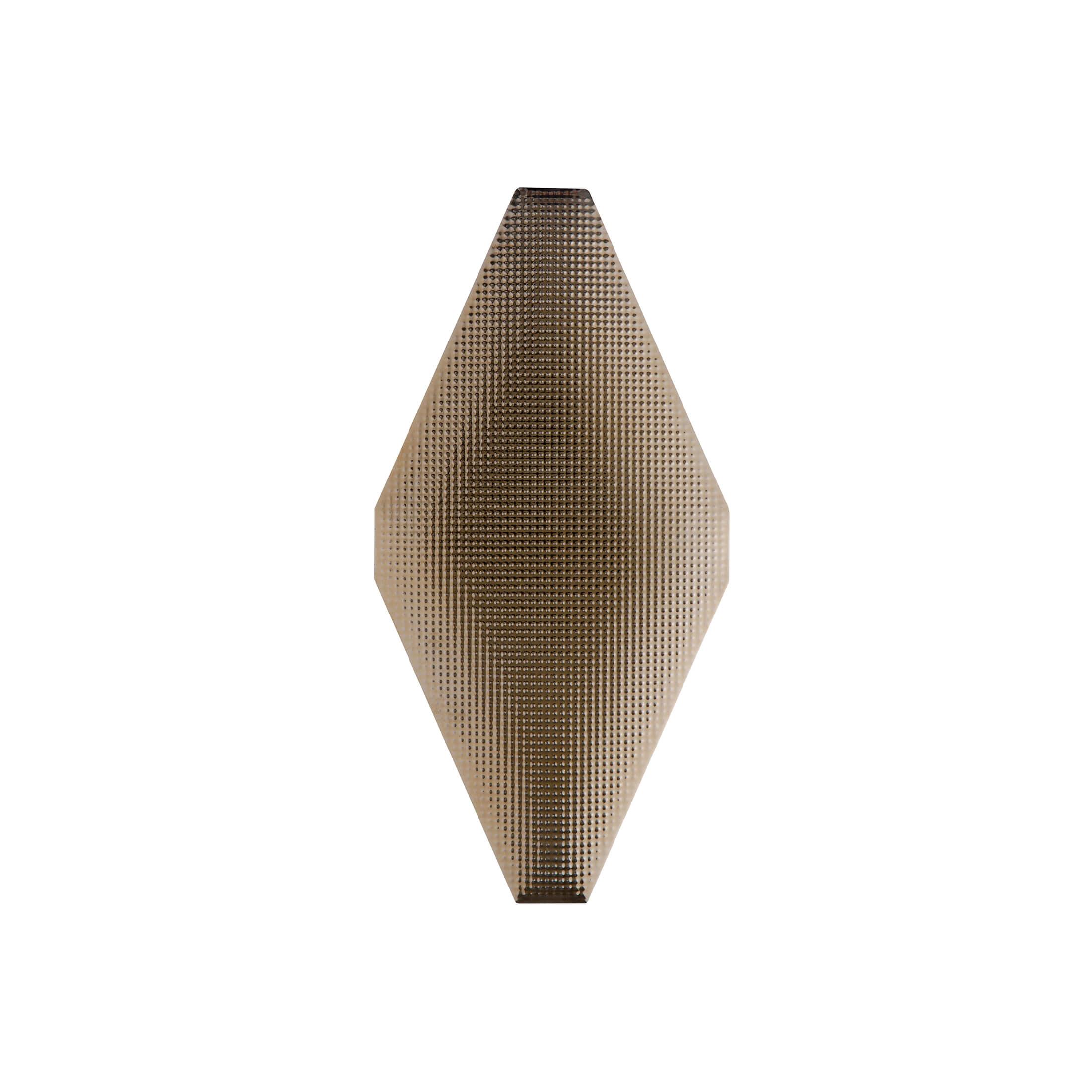 ADNE8125 - ROMBO ACOLCHADO ORO VIEJO - 10 cm X 20 cm