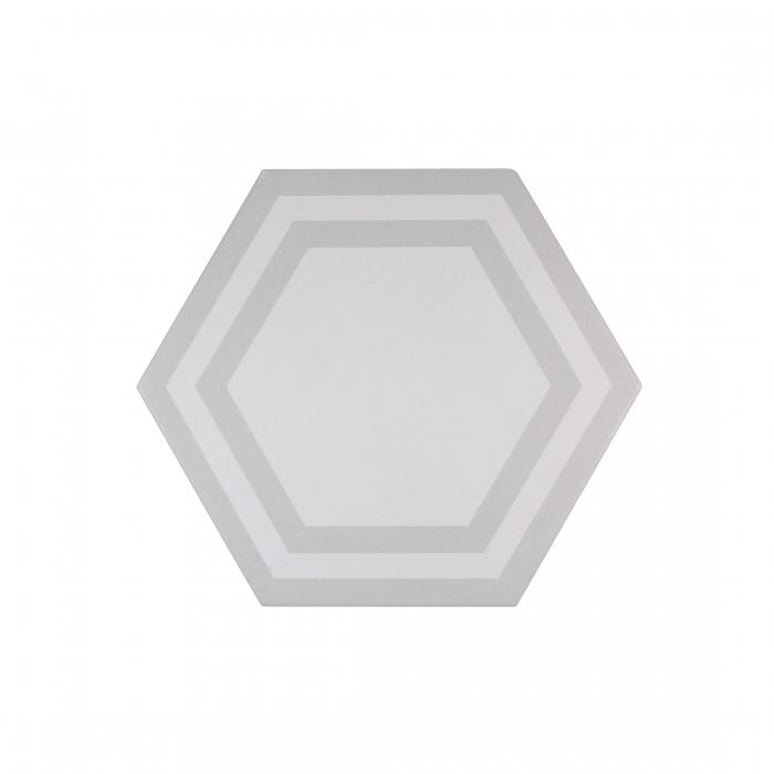 ADEX-ADPV9019-PAVIMENTO-DECO LIGHT GRAY-20 cm-23 cm-PAVIMENTO>HEXAGONO