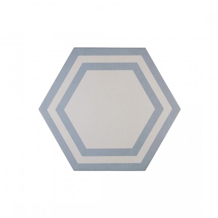 ADEX-ADPV9021-PAVIMENTO-DECO AZURE -20 cm-23 cm-PAVIMENTO>HEXAGONO