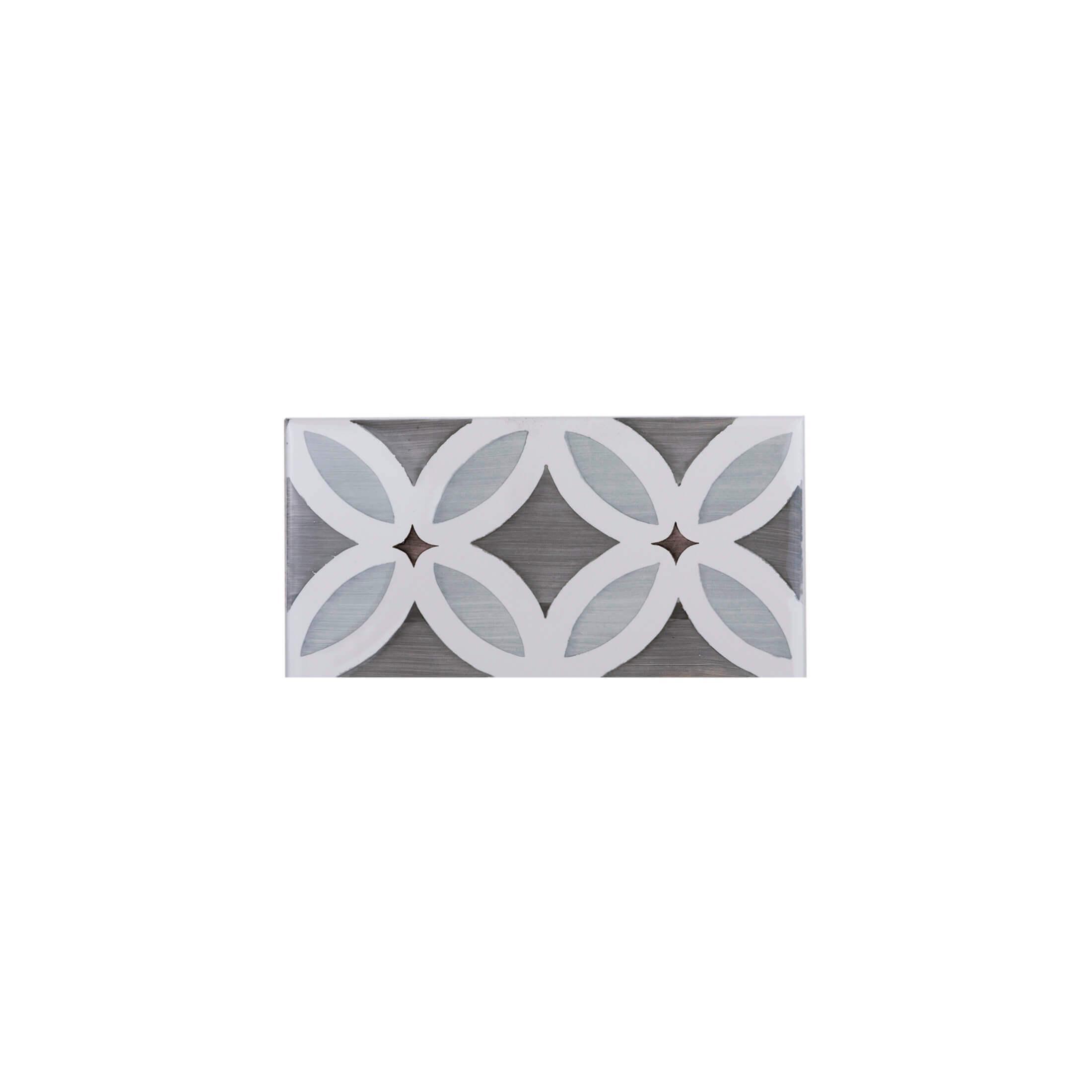 ADST3001 - CENEFA FLORES DUSK - 7.4 cm X 14.8 cm