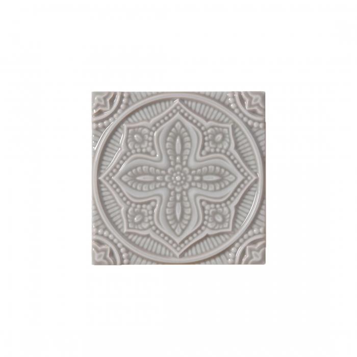ADEX-ADST4073-RELIEVE-MANDALA PLANET  -14.8 cm-14.8 cm-STUDIO>GRAYSTONE