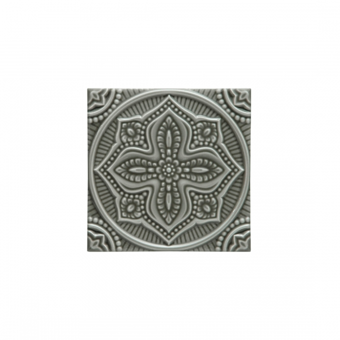 ADEX-ADST4095-RELIEVE-MANDALA PLANET  -14.8 cm-14.8 cm-STUDIO>EUCALYPTUS