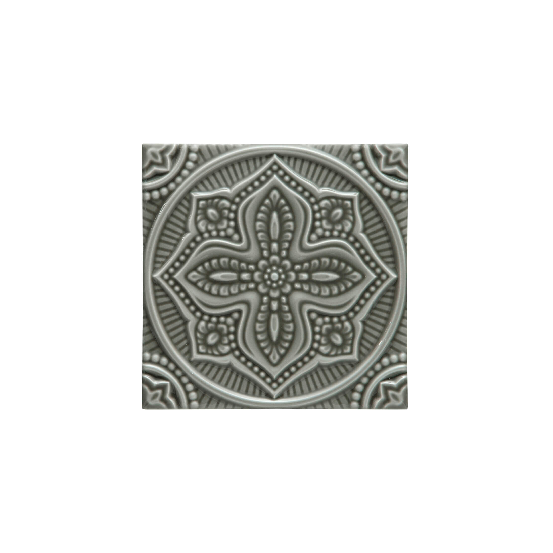 ADST4095 - RELIEVE MANDALA PLANET - 14.8 cm X 14.8 cm