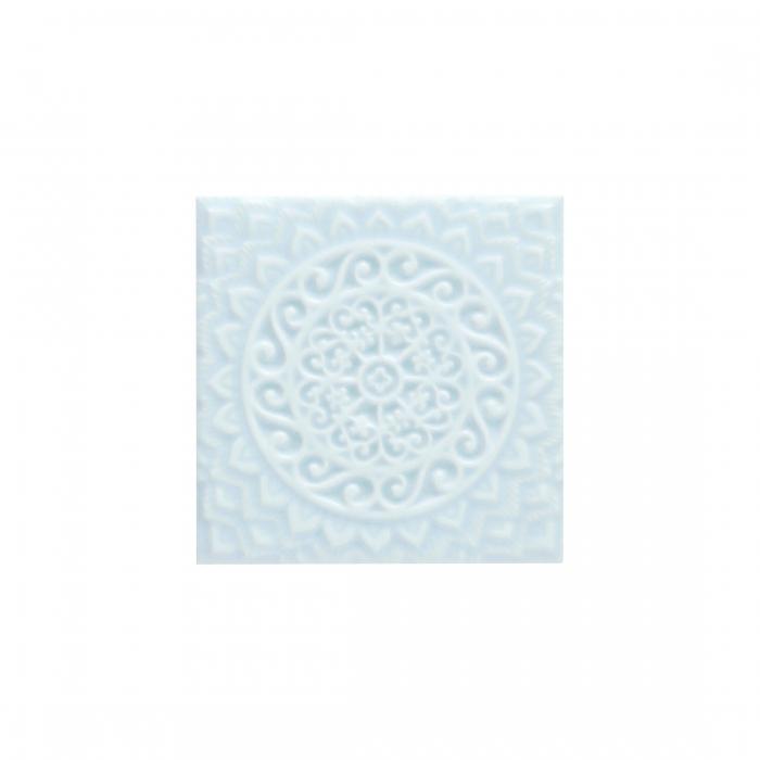 ADEX-ADST4102-RELIEVE-MANDALA UNIVERSE  -14.8 cm-14.8 cm-STUDIO>ICE BLUE
