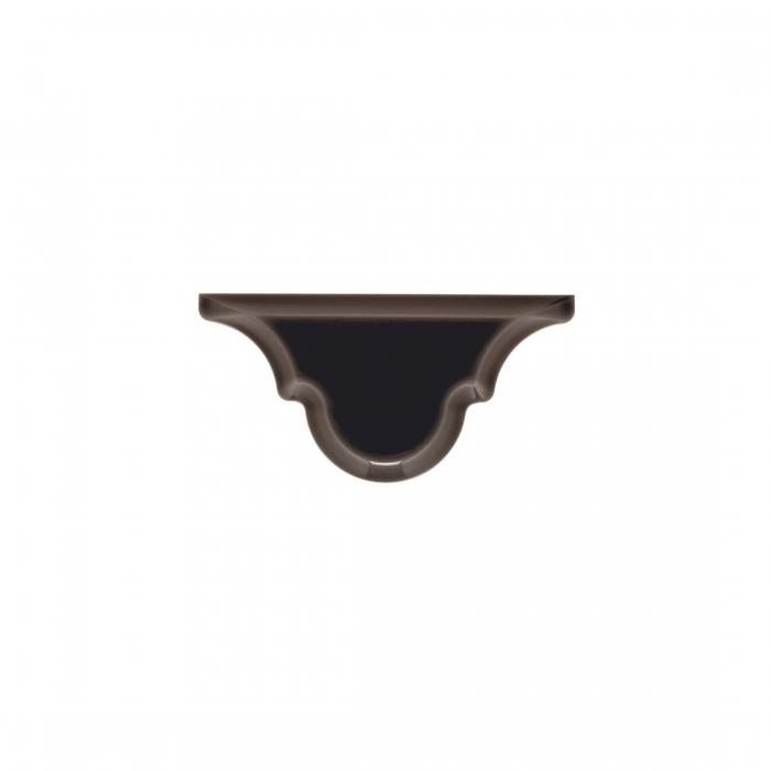 ADEX-ADST8013-ARABESCO-REMATE VOLCANICO -7.5 cm-15 cm-RENAISSANCE>BISELADO