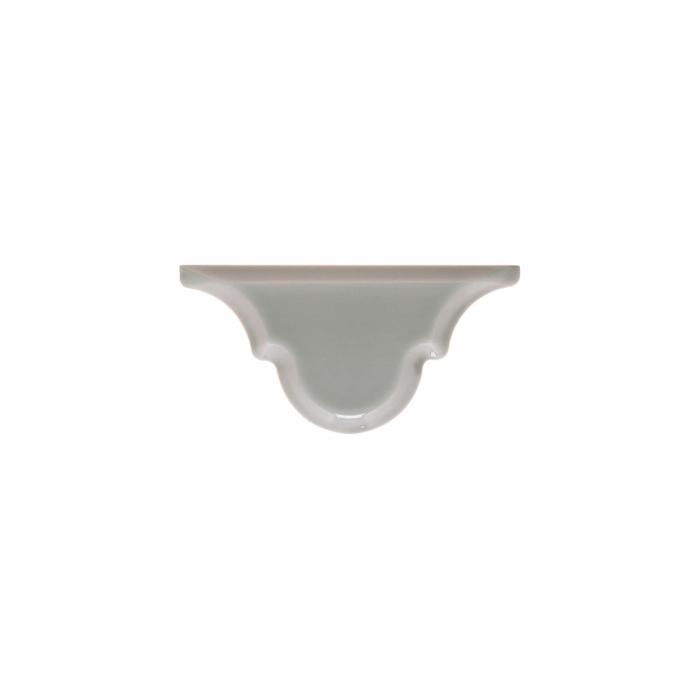 ADEX-ADST8014-ARABESCO-REMATE GRAYSTONE -7.5 cm-15 cm-RENAISSANCE>BISELADO