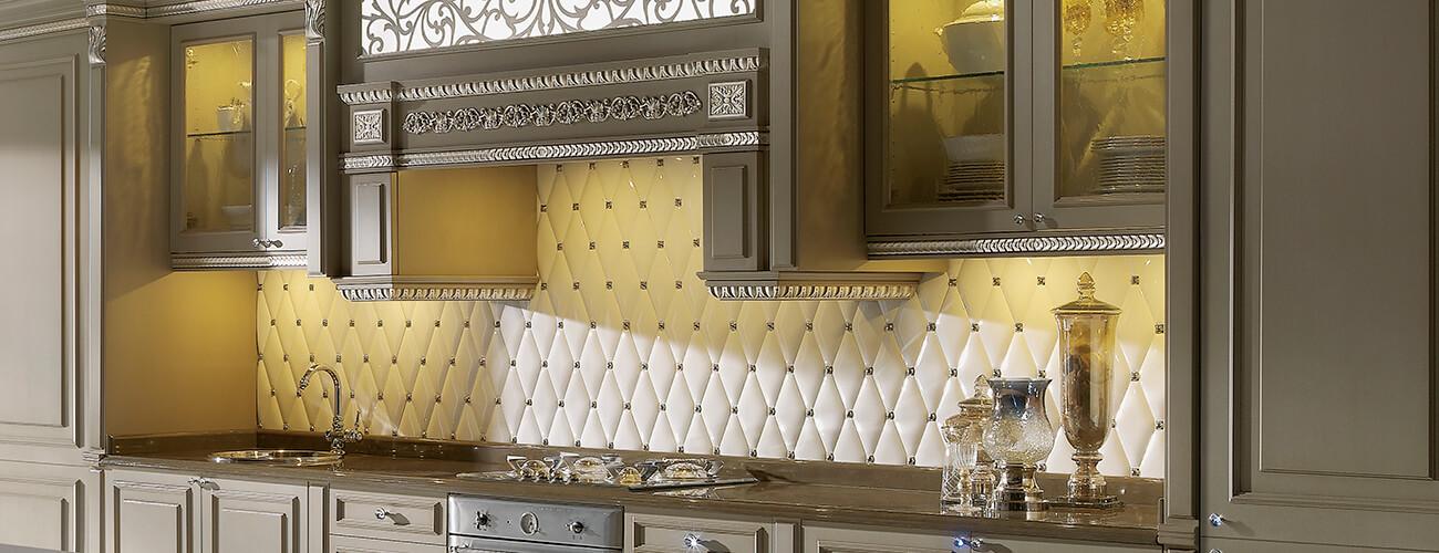 Rombos - acabado brillante - Esta serie, al igual que las joyas, denota un seguimiento de lujo y de exclusividad, añadiendo interés y originalidad en cualquier ambiente que sea utilizada.