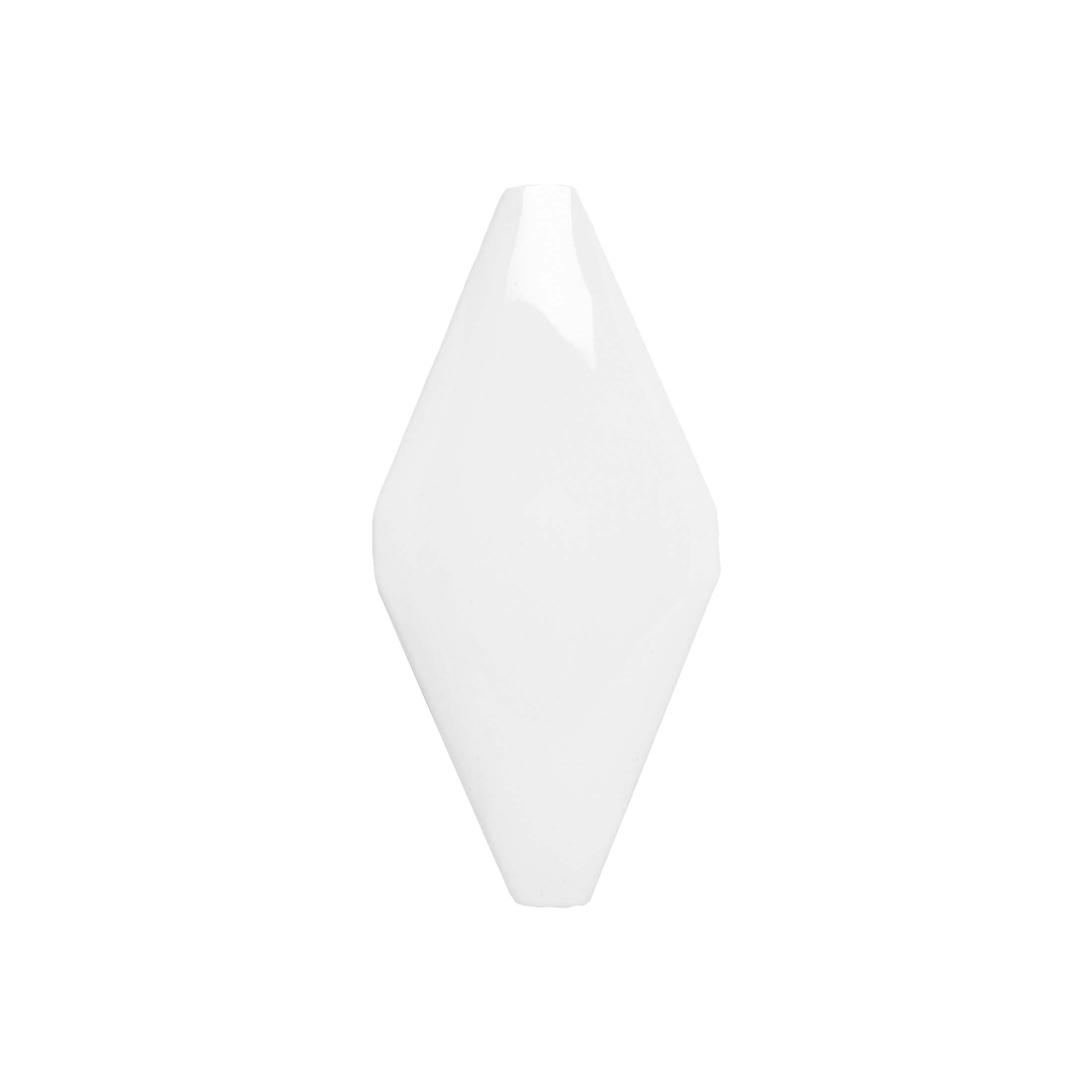 ADNE8006 - ROMBO ACOLCHADO BLANCO Z - 10 cm X 20 cm