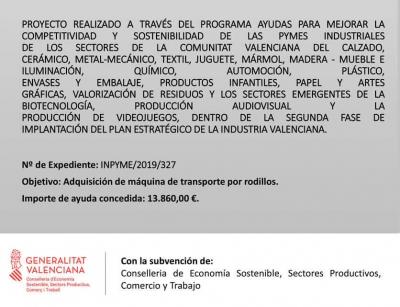 AYUDAS PARA MEJORAR LA COMPETITIVIDAD Y SOSTENIBILIDAD DE LAS PYMES INDUSTRIALES